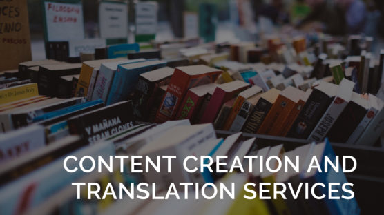 content creation and translation services